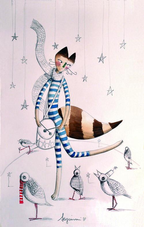 signor fox e il tamburaio magico