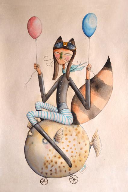 Signor Fox sul Pesce Palla