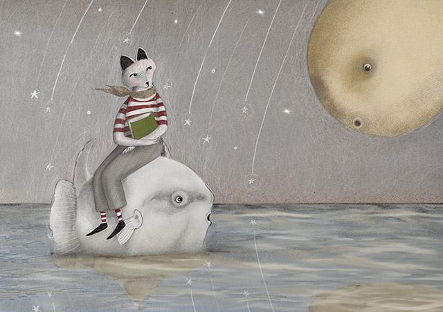 il signor fox e la luna - cecilia cavallini