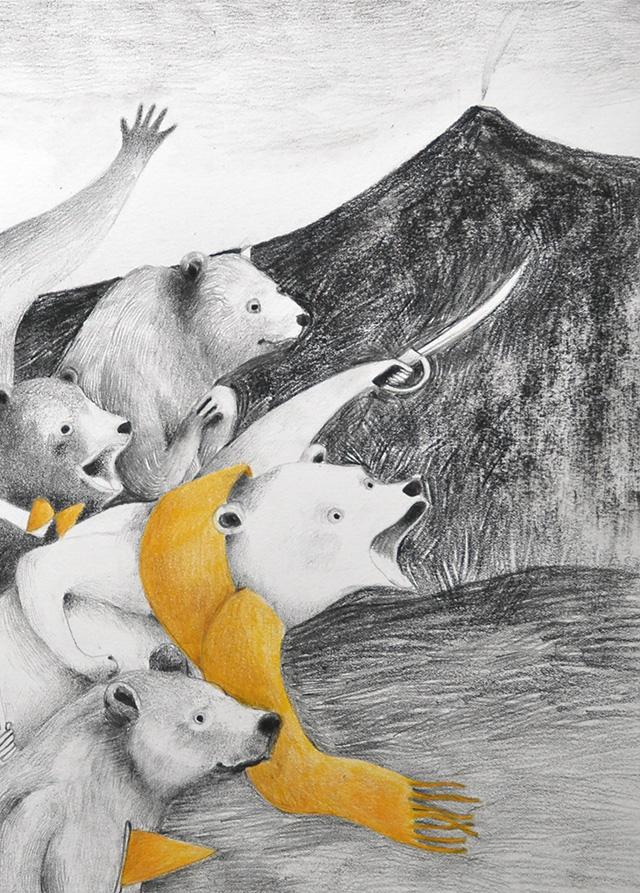 la famosa invasione degli orsi in Sicilia, portfolio