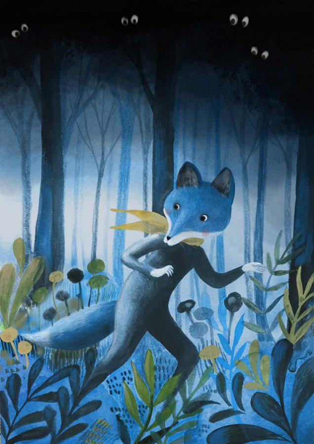 Il Signor Fox nel bosco della paura 2 x web