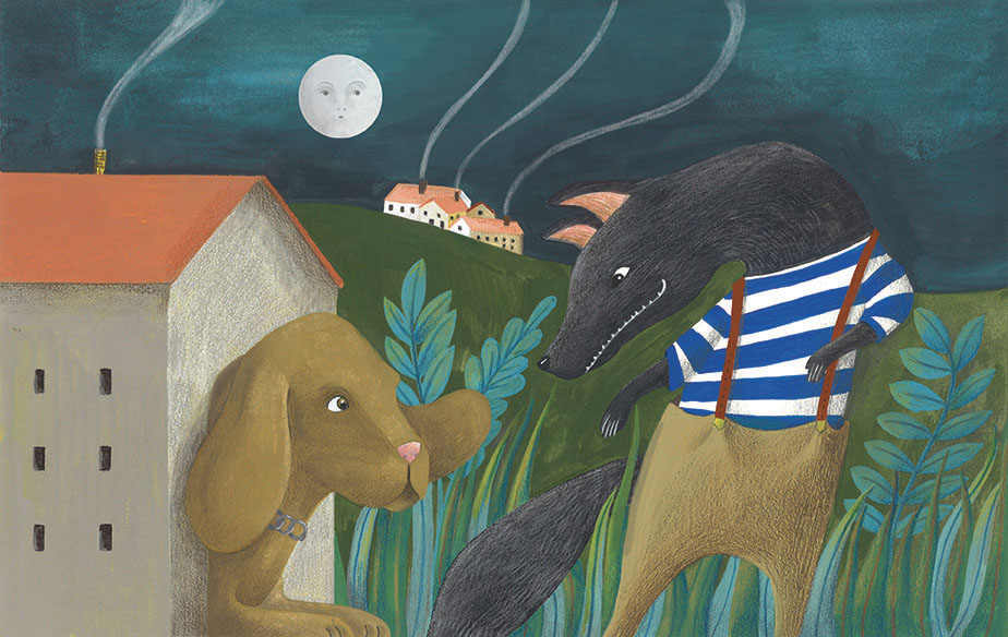 Esopo Rap - Il lupo ed il cane