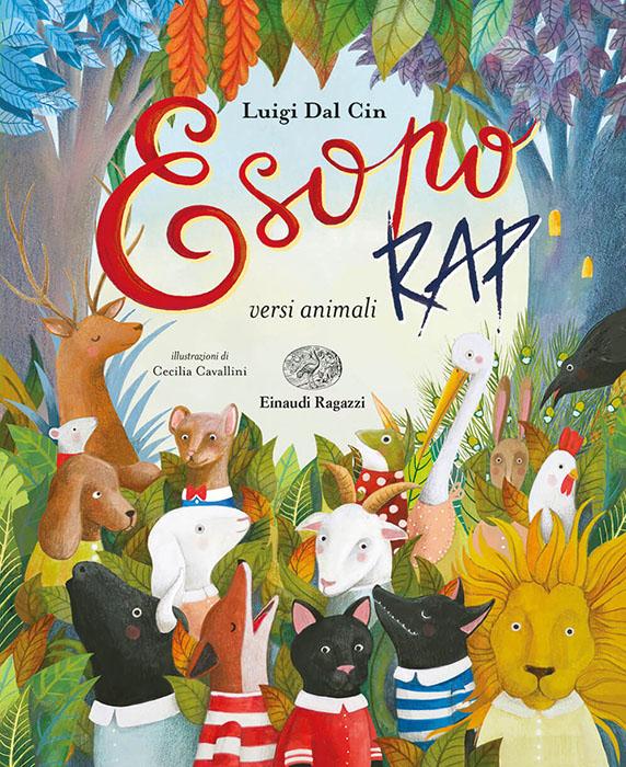 Esopo-rap-versi-animali-Dal-CinCavallini-Einaudi-Ragazzi-9788866565772